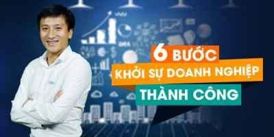 6 Bước khởi sự doanh nghiệp thành công